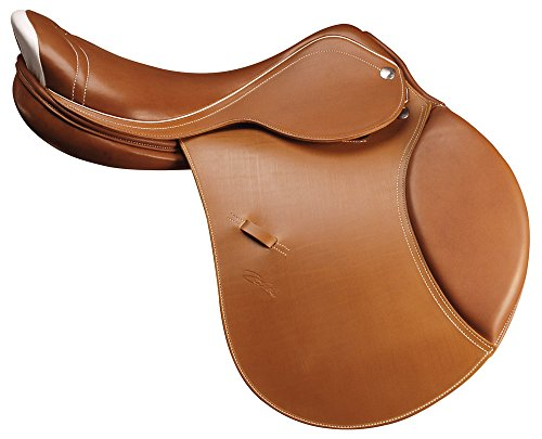 Selle mixte all purpose Zaldi en cuir Cognac modèle comfort